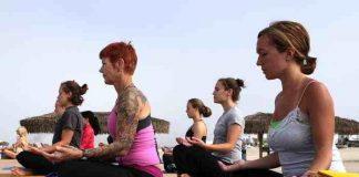 Probieren Sie es doch mal Yoga