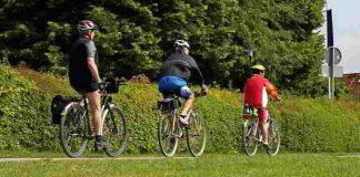Fahrrad fahren ist gesund und macht Spass