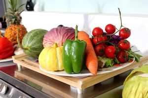 Im Sommer essen wir mehr Obst und Gemüse