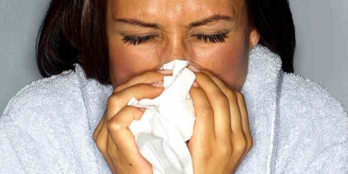 Eine Grippe kann gefärlich werden