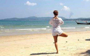 Gesund und gelassen: mit Yoga die innere Mitte finden
