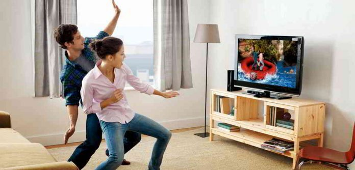 Bewegungssteuerung mit dem Fernseher