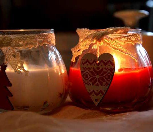 Aus alten Kerzen Duftkerzen machen