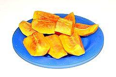 papaya als snack