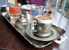 Türkischer Kaffee ist ein Genuß