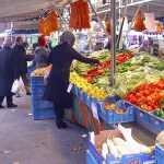 Auf dem Hochfelder Markt
