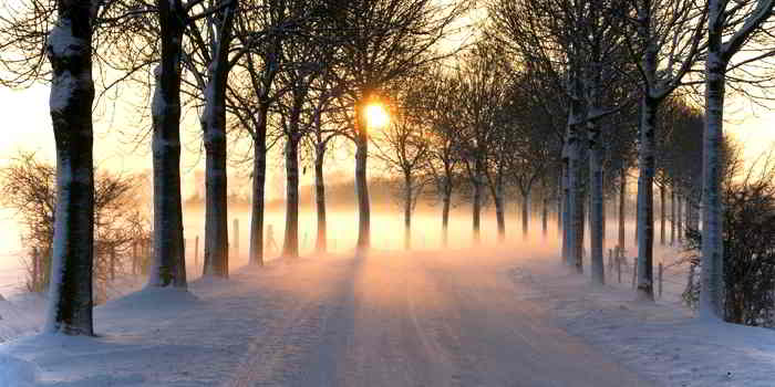 Die Bekleidung dem Winter anpassen