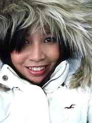 Im Winter muß man sich warm anziehen