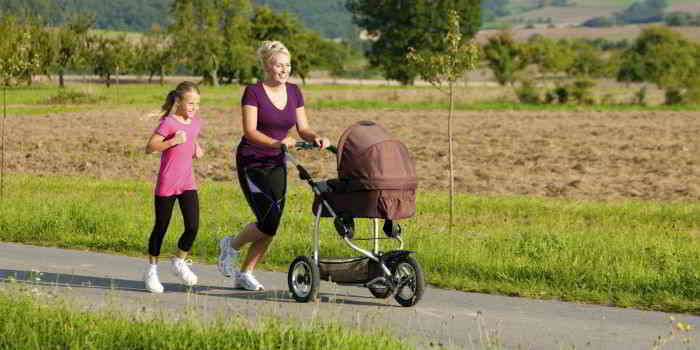 Bewegung trotz Kinder