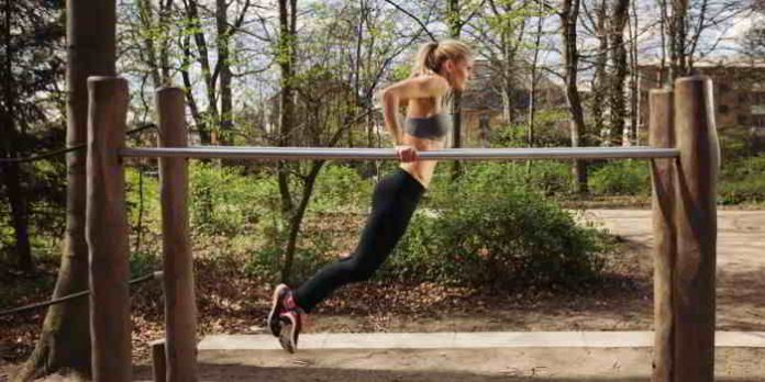 outdoor bewegungsparcours