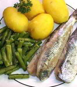eingelegte Fische