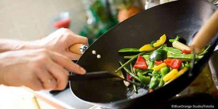 Super Wok Gerichte mit wenig Kalorien