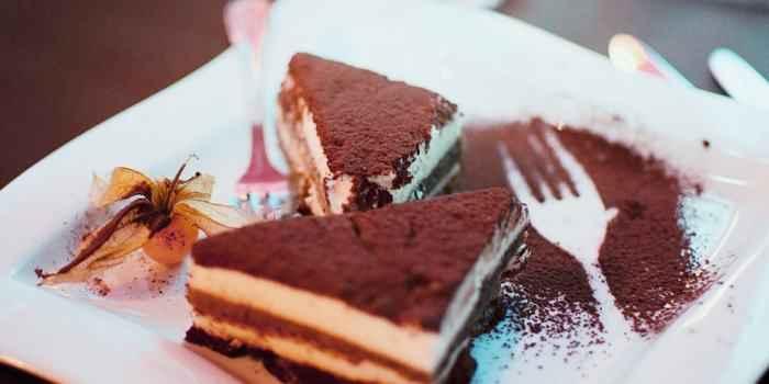 Veganes Tiramisu - da könnte man sogar auf ein Eis verzichten