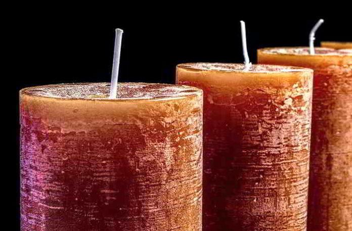 Rustikale Kerzen selber gießen