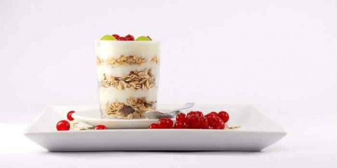Selbst gemachter veganer Joghurt mit Knuspermüsli, Teil 1