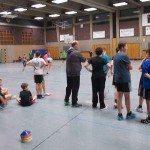 Handball ist ein schneller Sport