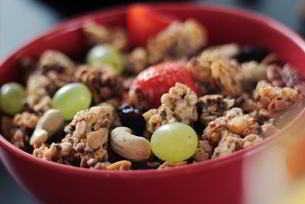 Chia-Samen schmecken auch im Müsli