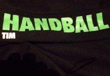 Detail vom Trainingsanzug fürs Handballtraining