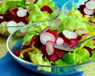 Lecker abnehmen mit Rote Bete Salat