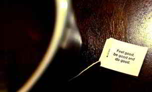 Yogi Tee soll auch den Geist entspannen