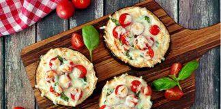 Pizza aus Auberginenscheiben - der Low Carb Snack mit Suchtfaktor
