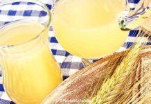 Glutenfreier, probiotischer Brottrunk selbst gemacht