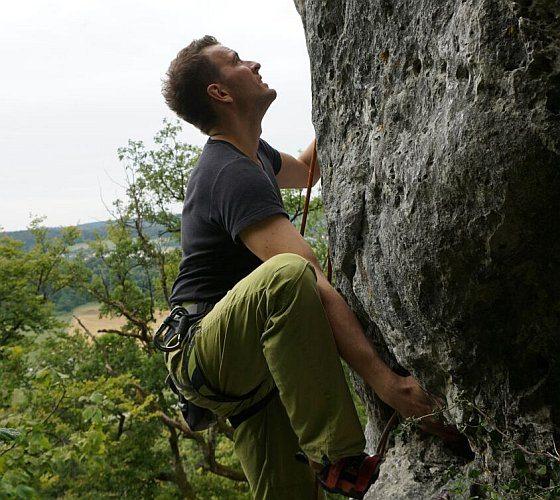 Klettern im Frankenjura