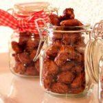 Gebrannte, zuckerfreie Mandeln selber machen - der gesunde Snack
