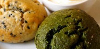 Vegane Scones mit Kürbis-, Zucchini- oder Auberginenmus