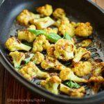 Blumenkohl mit Koriander, Limetten und Chilli oder als Low Carb Tortillas