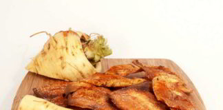 Pastinaken Chips selber machen - Low Carb, lecker und gesund