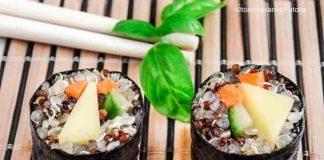 Veganes Sushi mit Quinoa - gesund, lecker und abwechslungsreich