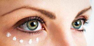 DIY natürliche Augencreme gegen Augenringe und Falten