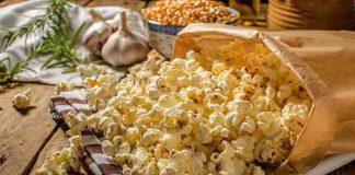 DIY Popcorn - kalorienarm, mit verschiedenen Gewürzmischungen