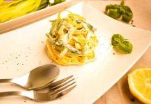 DIY Low Carb Pasta aus Kichererbsenmehl - vegan und vegetarisch