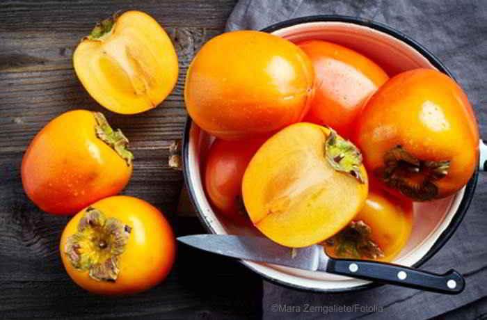 Kaki Früchte - gesunde Power in der kalten Jahreszeit