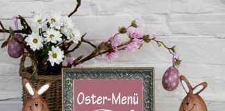 3 Gänge Ostermenü - gesund, kalorienarm und ausgewogen