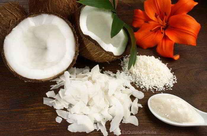 Bio Kokosmus und Kokosmilch ganz einfach selber herstellen