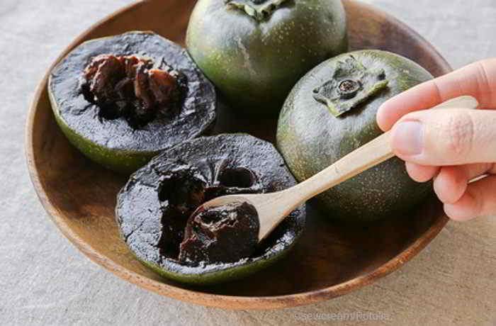 Schwarze Sapote - schokoladig lecker und trotzdem richtig gesund