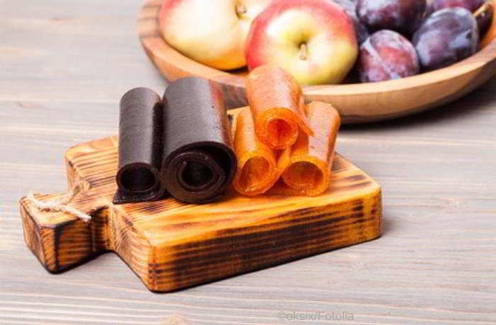 DIY Ingwer Apfel Fruchtleder beugt Reiseübelkeit und Hungerattacken vor