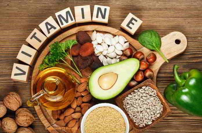 Vitamin E wie Ernährung