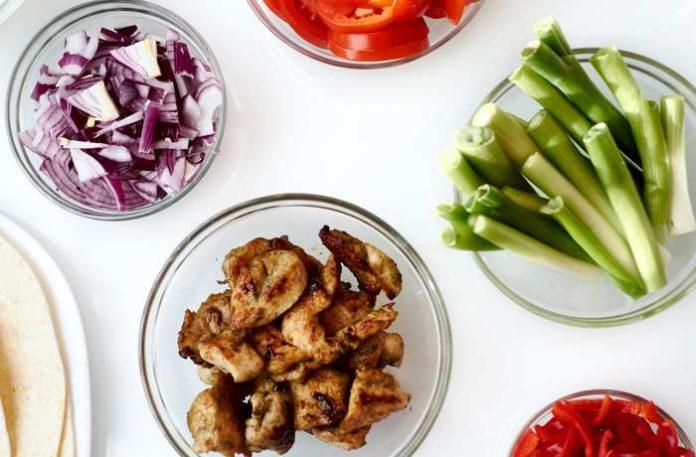 Low Carb Gyros - glutenfrei, mit Zupffleisch oder Tofu