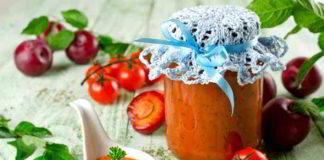 Tomaten Pflaumen Ketchup selber herstellen - gesund und fruchtig