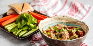 Das Baba Ganoush original Rezept mit DIY Tahini
