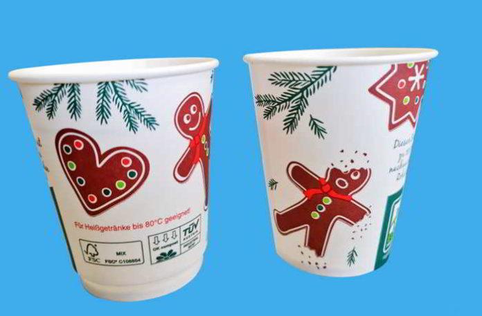 Bio Glühweinbecher für Nachhaltigkeit und Hygiene im Weihnachtsgeschäft